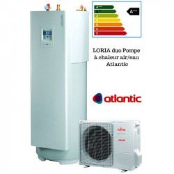 Loria duo 6008 Atlantic 7.5 Kw pompe a chaleur air/eau A++-PROMOS-SHOP