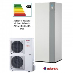 Excellia duo 11 TRI 400V ATLANTIC 11 Kw pompe à chaleur inverter air eau A++-PROMOS-SHOP-7 981,00 TTC