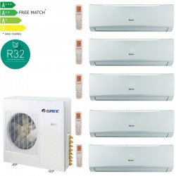 GREE LOMO Pack multisplit 42 12500W pour 5 pieces 2x07 / 3x12-PROMOS-SHOP-3 200,00 TTC