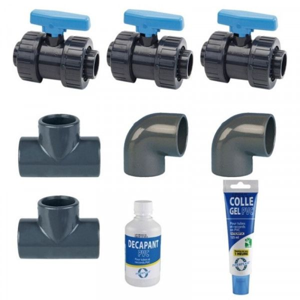 Kit completo de Poolex By Pass, accesorios de piscina-PROMOS-SHOP