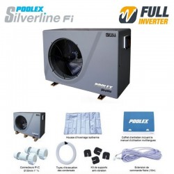 Poolex Silverline Inverter 70 - R32 - 30 a 45m3 / Kit By Pass complet-PROMOS-SHOP-999,00 TTC