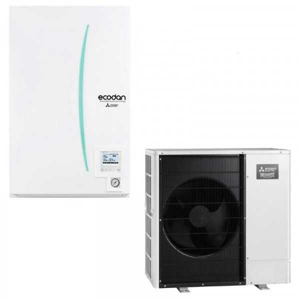 ERSD-VM2D PUHZ-SW100VAA MITSUBISHI ECODAN hydrobox power réversible split-Achat-flash-5 317,00 TTC
